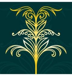 elegant design elements vector image