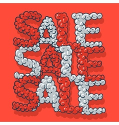 Hot Sale poster vector image