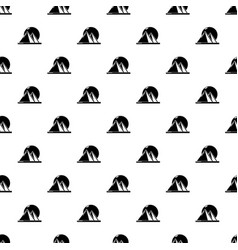 Pyramid egypt pattern seamless vector