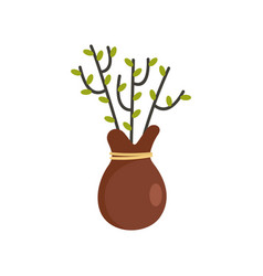 tree for planting icon flat style vector image