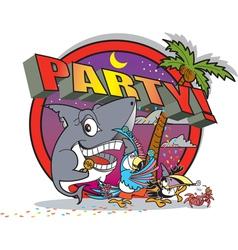 Party island vector