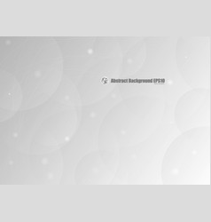 abstract gray circle gradient background vector image