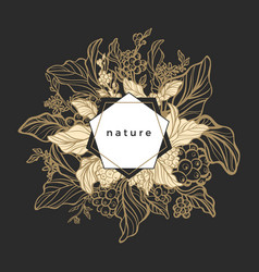 design nature template symbol vector image