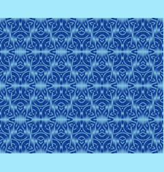 Elegant patterned textile texture indigo dyed vector