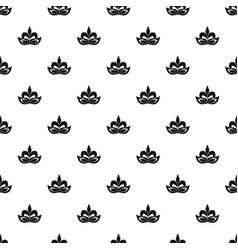 fashion mask pattern seamless vector image