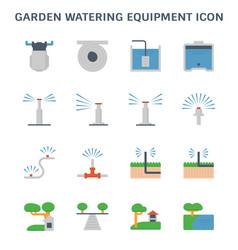 garden watering icon vector image