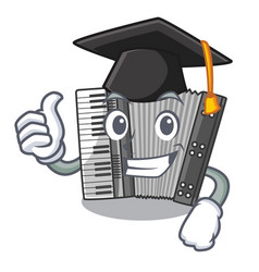 Graduation according in the shape character wood vector
