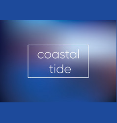 mesh blue coastal tide smooth abstract colorful vector image