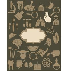 doctor wallpaper vector image vector image
