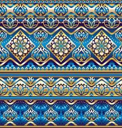 silk blue ornament vector image vector image
