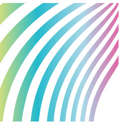 abstract spectrum waves vector image
