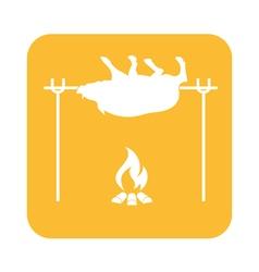 Barbecue Boar icon vector image