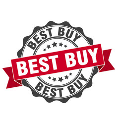 Best buy stamp sign seal vector