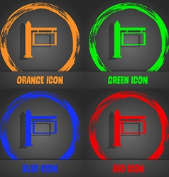 Information Road Sign icon sign Fashionable modern vector