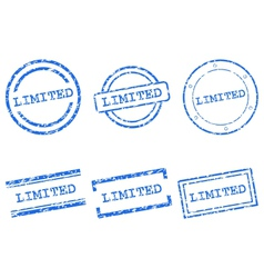 Limited stamps vector