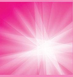 pink white rays texture background vector image