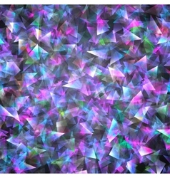 triangles geometric background vector image vector image