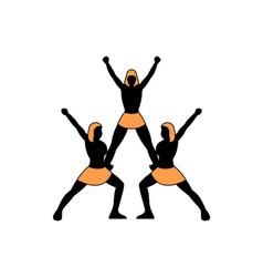 Cheerleading-Team-380x400 vector image