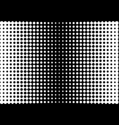 halftone background gradient of dots vector image vector image
