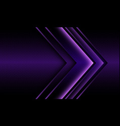 abstract violet light arrow direction geometric vector image