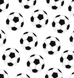 Background soccer balls vector