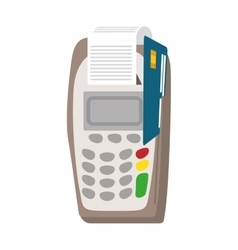 Dataphone con Money and Financial item vector