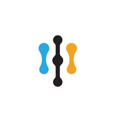 Internet cable logo vector