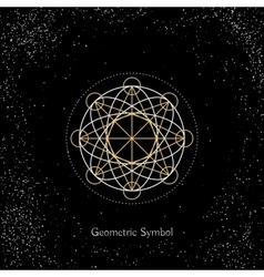 Magic Geometry Sign vector