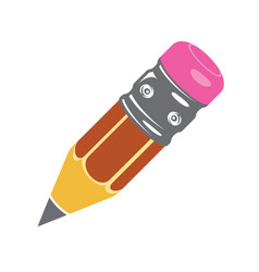 Pencil icon colorful icons flat style vector