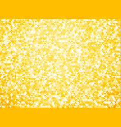 simple yellow triangular background with vignette vector image