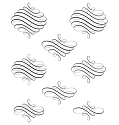 Swirl vector image
