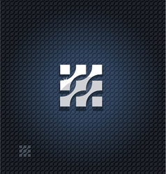 Abstract square vector image vector image