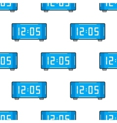 Electronic watch Flat color icon Seamless vector image