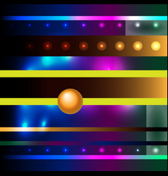 futuristic modern colorful abstract background vector image
