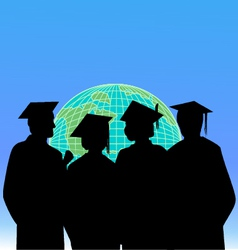 Graduates and the world vector