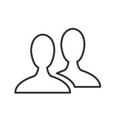 Male avatar profile picture silhouette vector