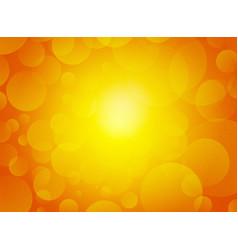 orange blurred sparkle grainy background vector image
