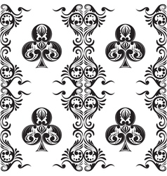 Pattern Club Ornamental vector image