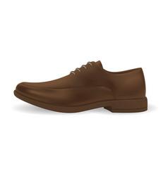 realistic men shoes vector image