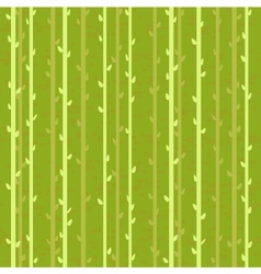 abstract branch with buds seamless vector image