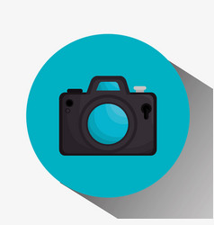 photography camera icon vector image