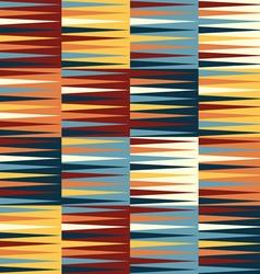 Abstract retro geometric seamless pattern vector