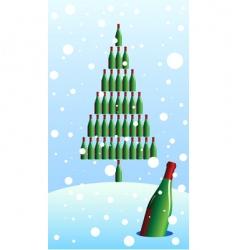 Bottle tree vector