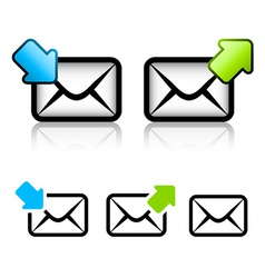 E-mail envelope icon vector