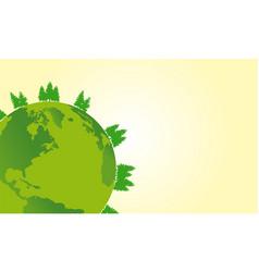 Earth day design art vector