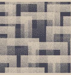 Stippled weird trendy seamless pattern abstract vector