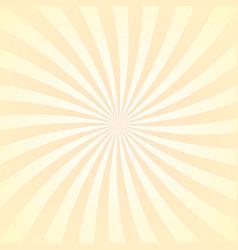 sun rays background yellow radiate beam burst vector image