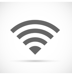 Wireless icon flat vector image