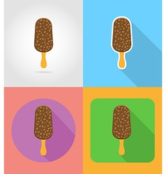 Fast food flat icons 07 vector