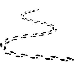 winding road vector image vector image